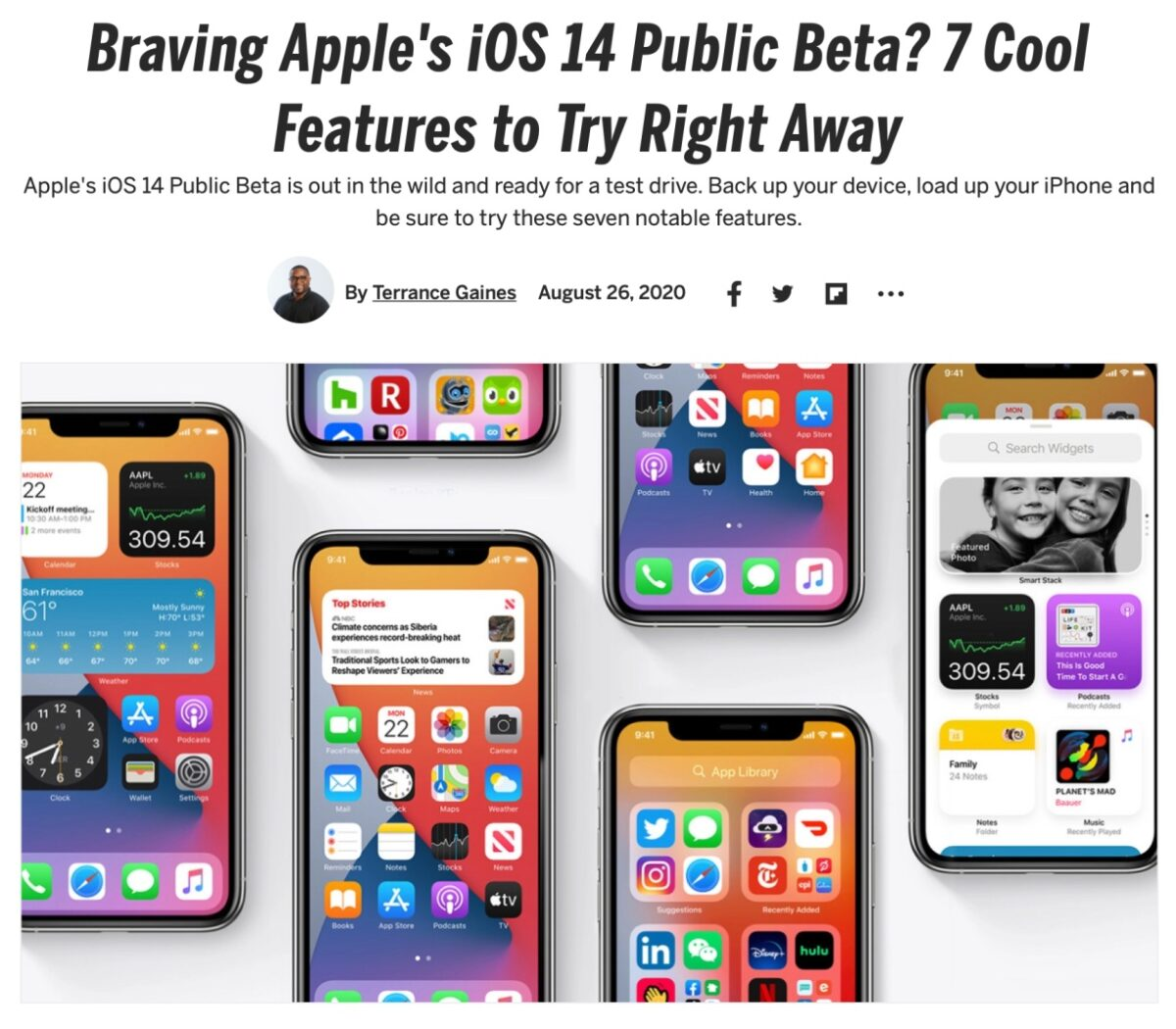 Braving Apple's iOS 14 Public Beta 7 Cool Features